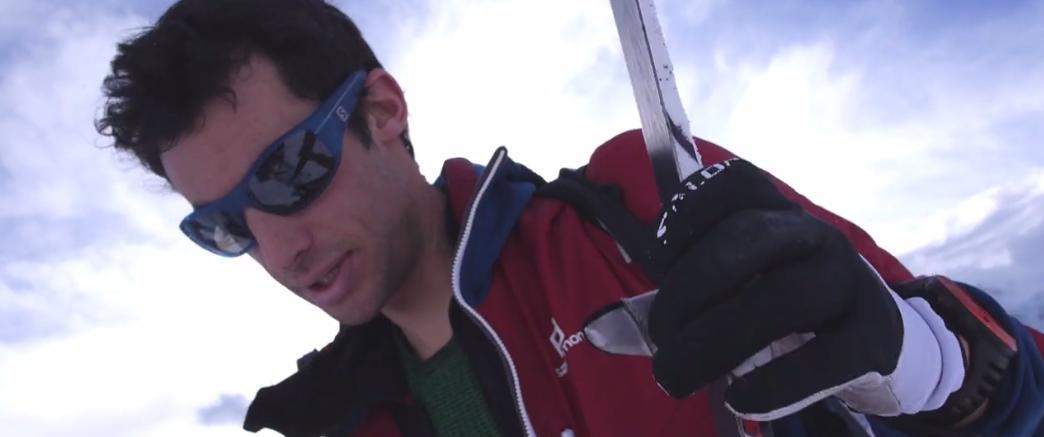 Kilian Jornet en entrainement à La Flégère, Chamonix