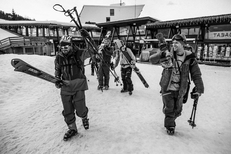 Départ de la rando à Arcs 1600//©Christophe Stramba-Badiali/CTC