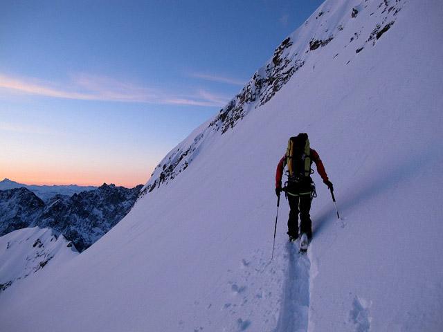 Jeroen, créateur du site skitour.fr, 150 000 m de dénivelé positif par an !