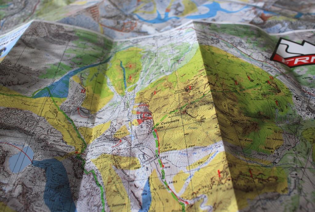 La Freeride Map de Serre Chevalier