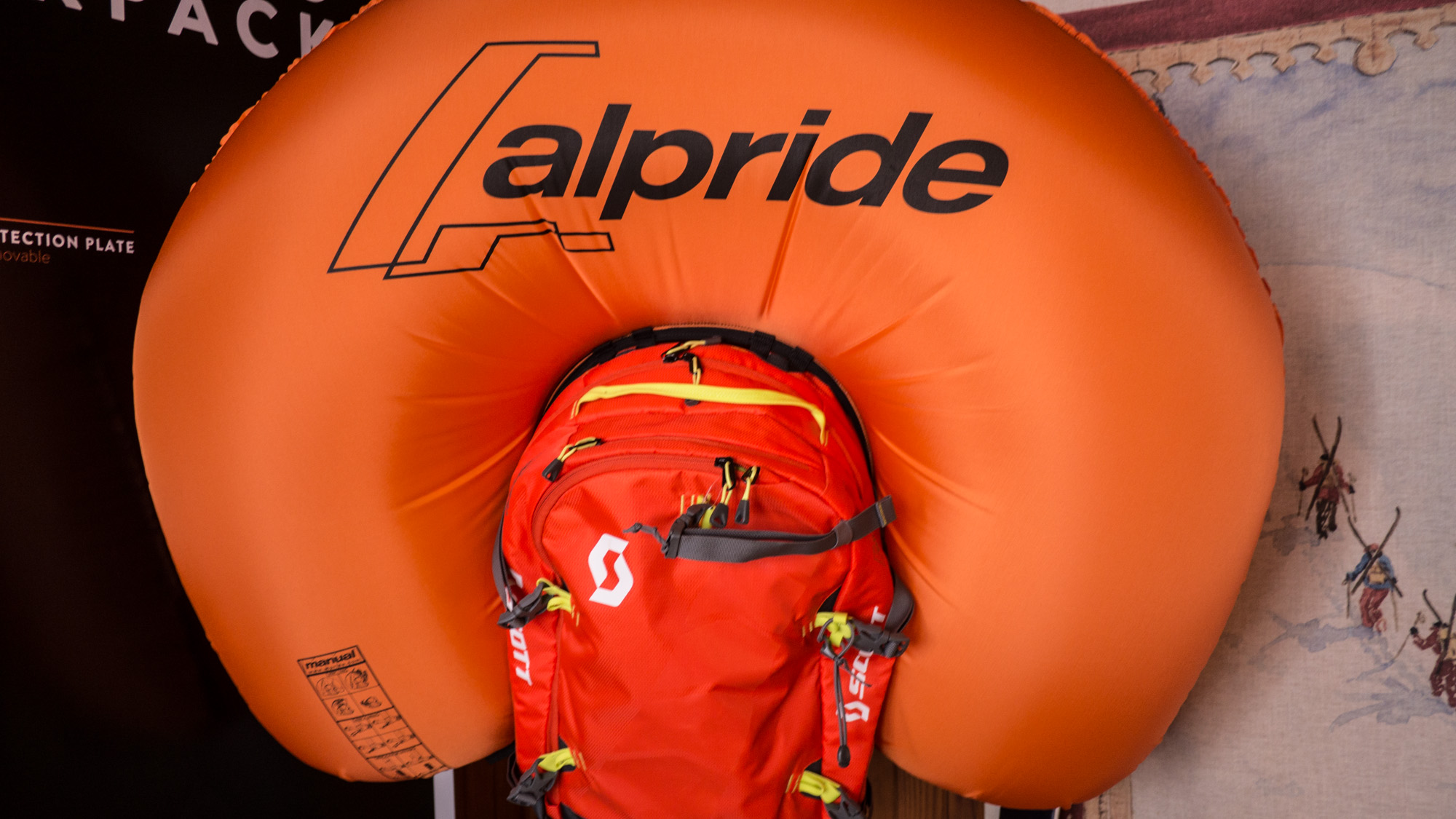 Système d'airbag Alpride.
