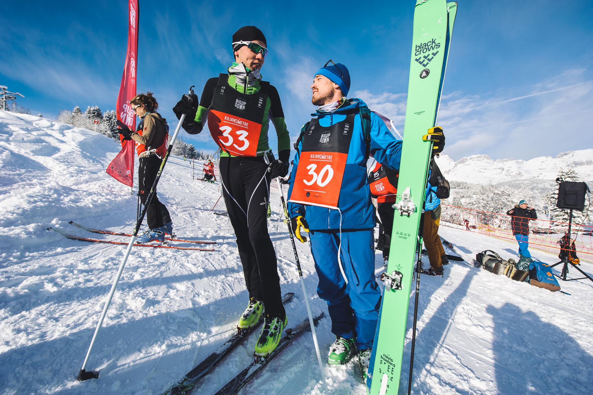 Ski running et freerando ©Marc Daviet/CTC