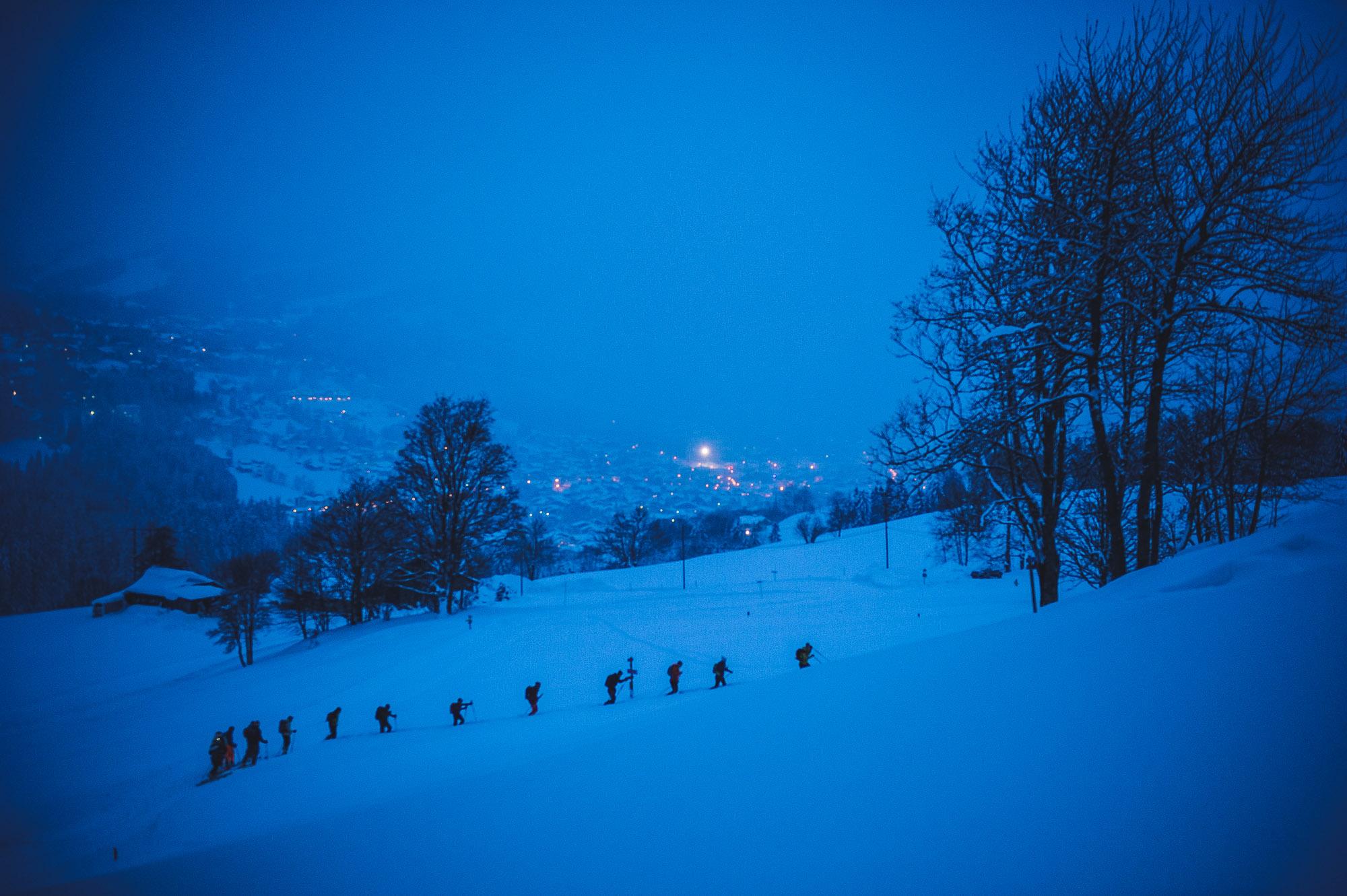 La nuit tombe sur la Belle Montée ©Marc Daviet/CTC