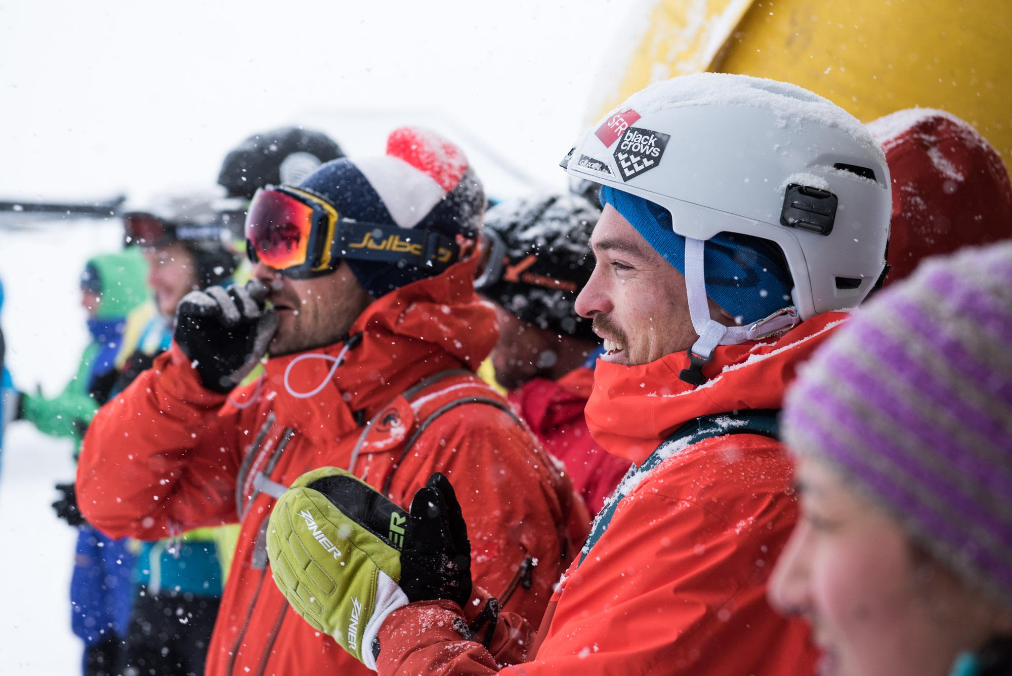 Mathieu Navillod, Adrien Coirier et Caroline Freslon à la remise des prix du Big Nak  ©Marc Daviet/CTC