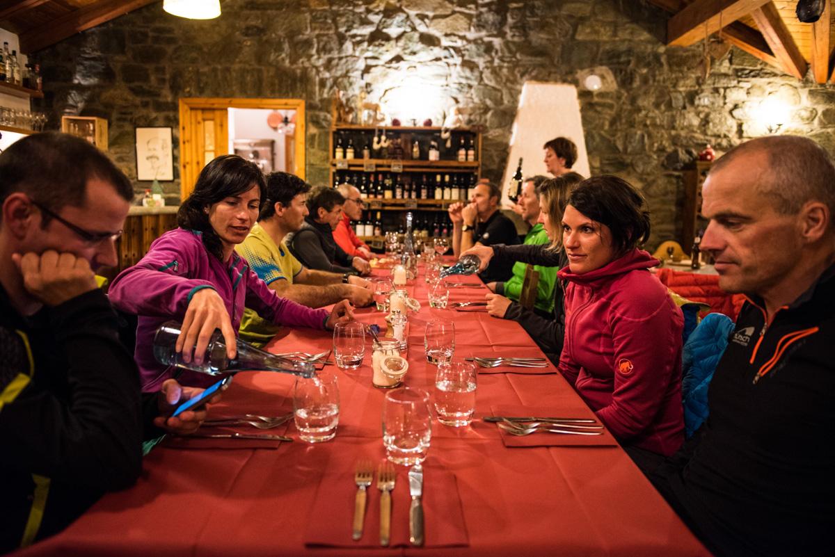 Repas du soir digne d'un restaurant étoilé dans ce petit coin de paradis : on se promet d'y  revenir !