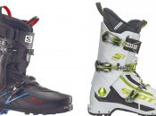 Matos 18 : chaussures S/Lab X-Alp Salomon et S1 Scott