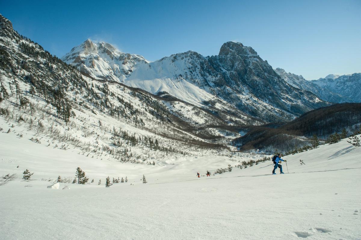 Valbona Timy Theaux elev 1500m Kukaj's valley