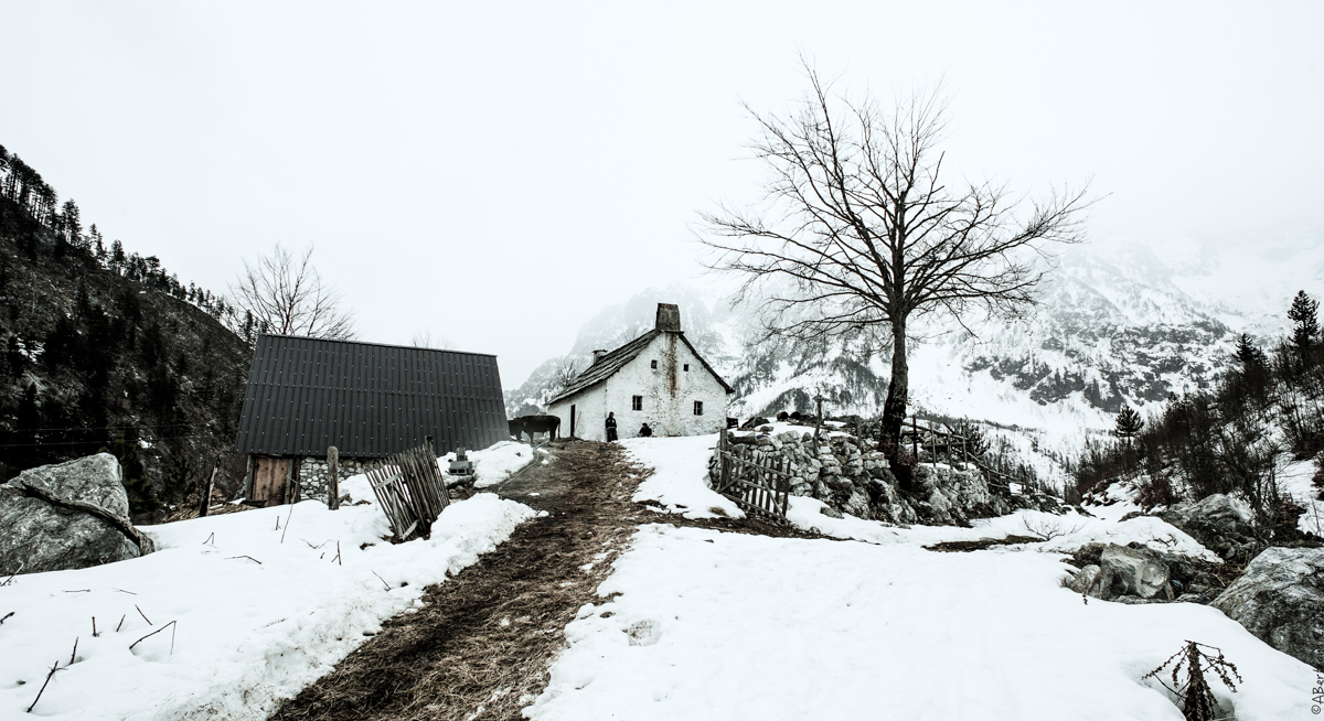 Valbona elev 1150m Kukaj hamlet 3