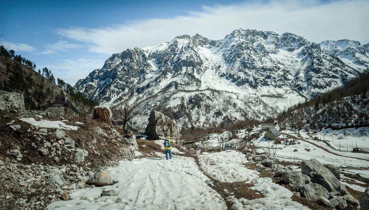 Valbona elev 1150m Kukaj hamlet 4