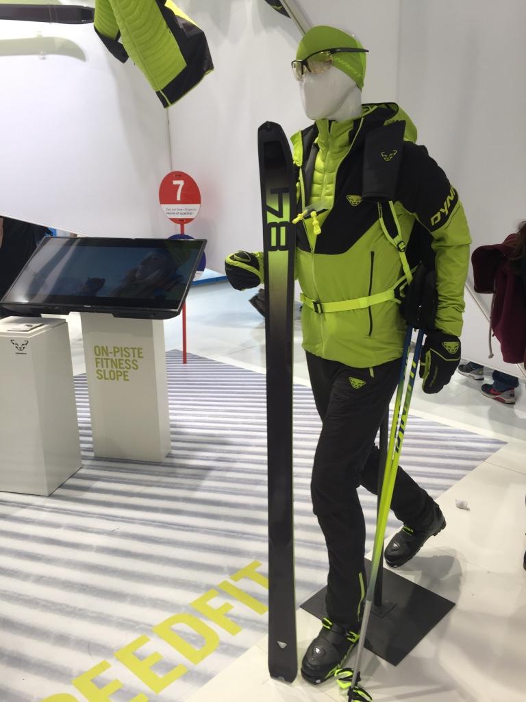 C'est certainement la nouveauté qui nous a le plus interpellé chez les marques durant notre visite... Dynafit propose désormais une gamme dédiée au ski de rando en station. Son nom : Speedfit