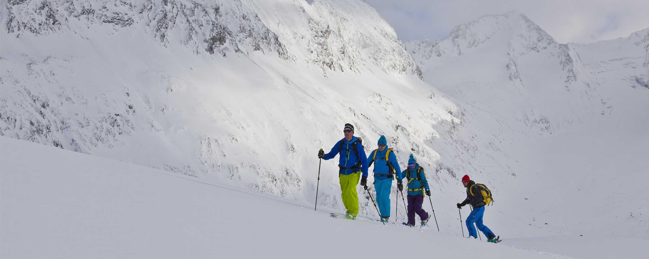 Ski de rando à La Rosière