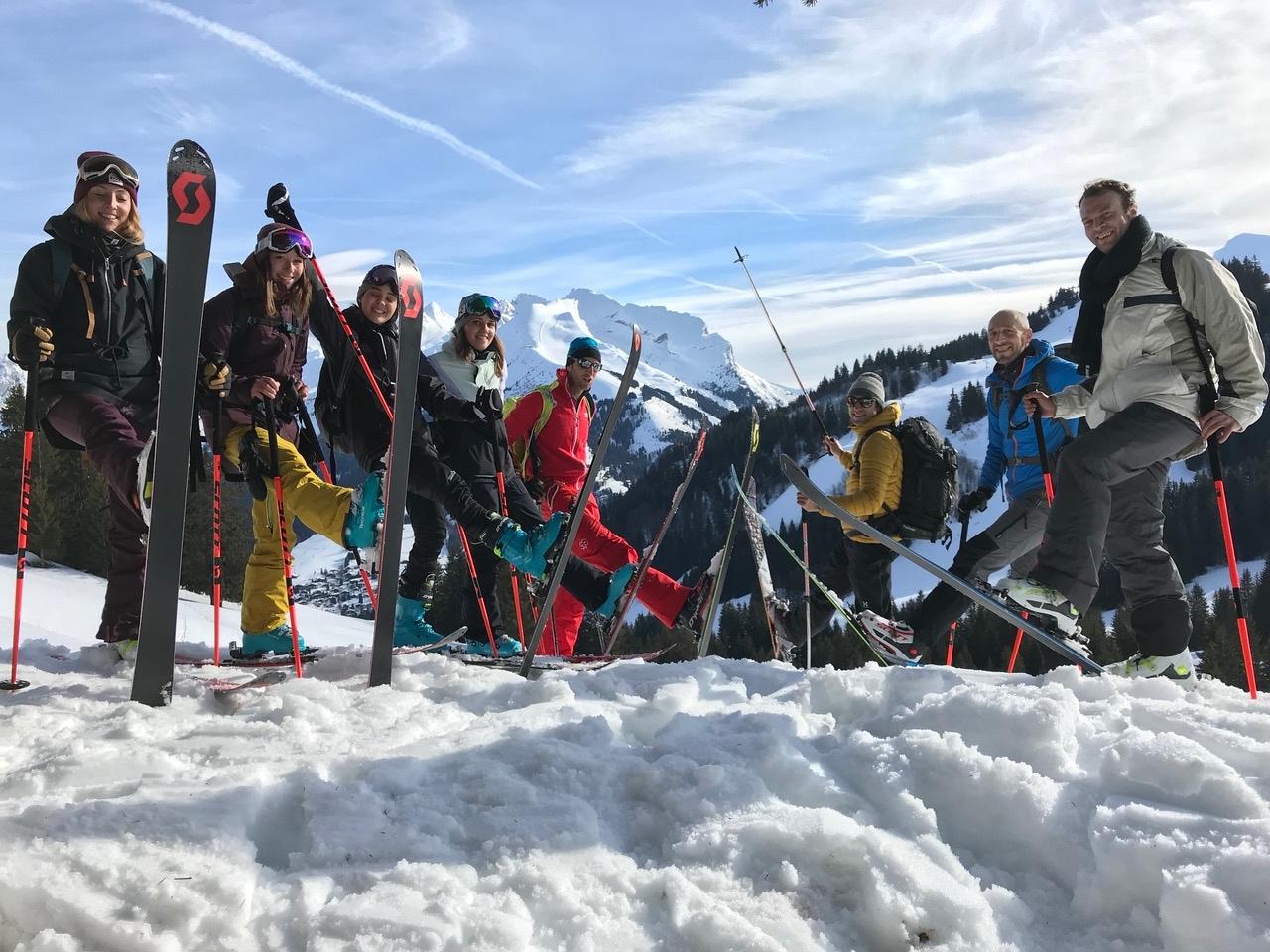 ski-de-rando-la-clusaz-groupe