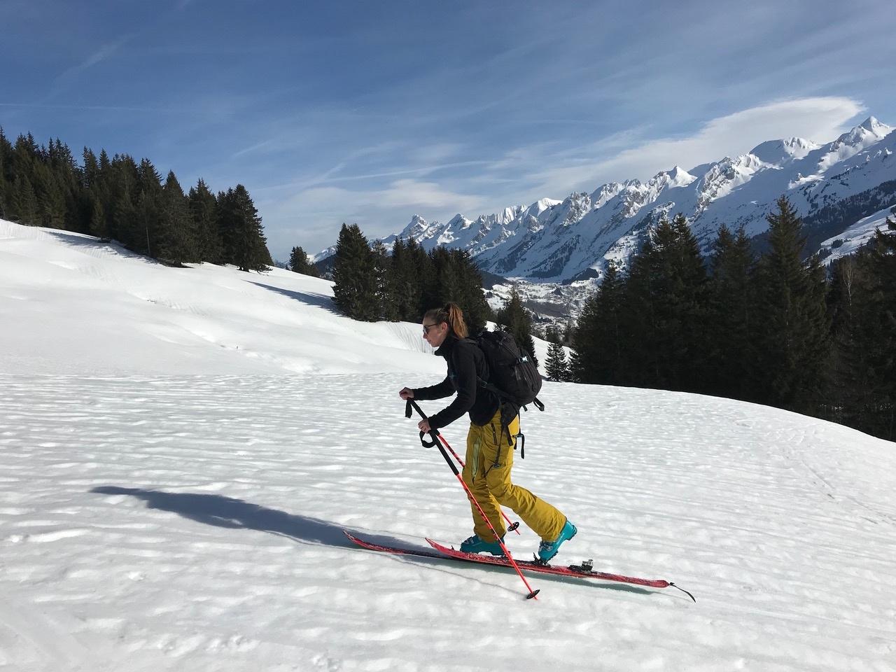 ski-de-rando-la-clusaz-montee