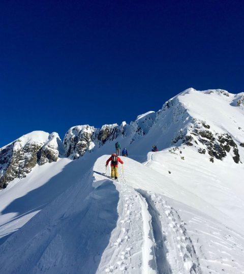 Ski de randonnée à Chamonix