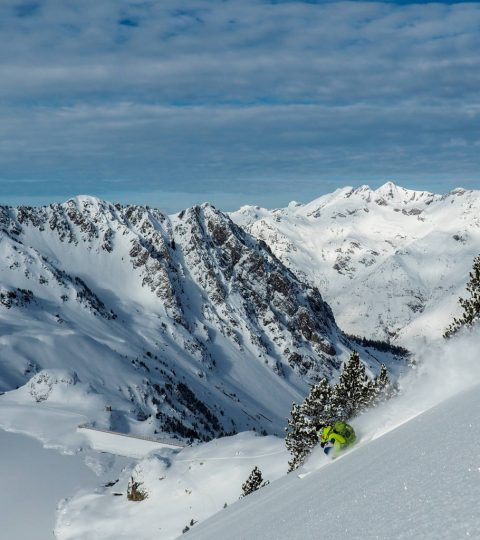 Freerando dans les Pyrénées