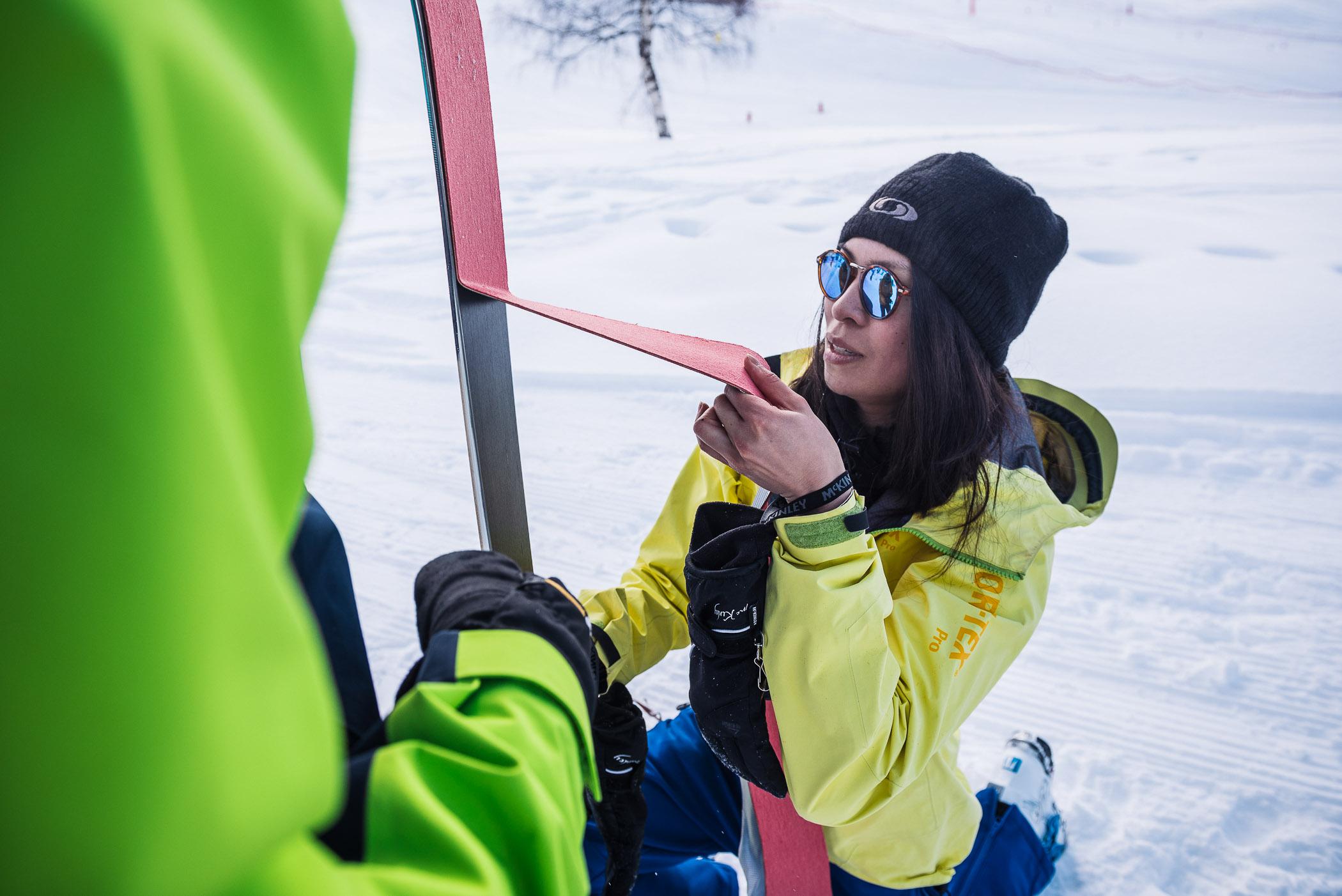 big up and down CTC trophées ski de rando