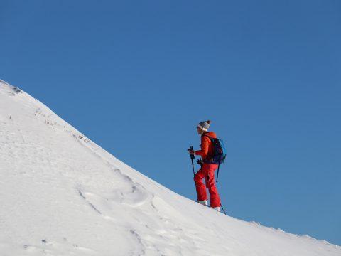 filles ski de randonnée