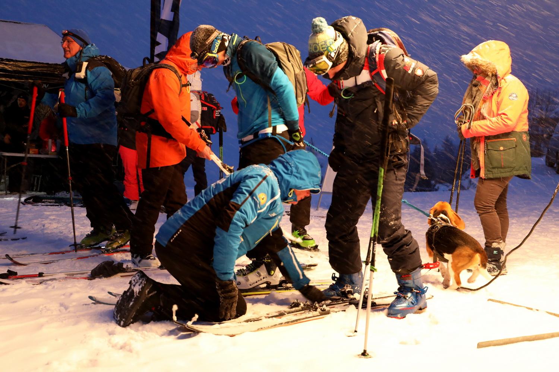 Ski de randonnée ski touring combloux