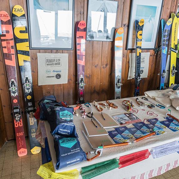 ski randonnée matériel Zagskis PeakUp Hautes-Alpes