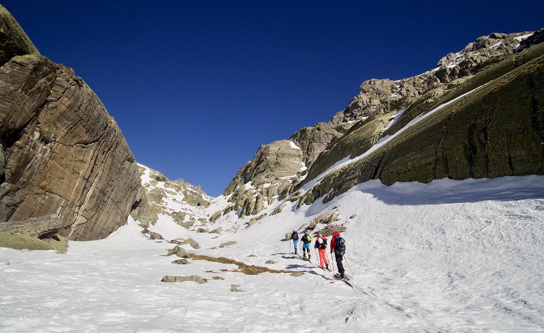 ski randonnée montée montagne