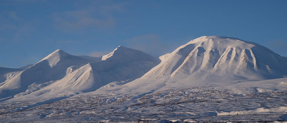 Yukon Canada ski randonnée montagnes