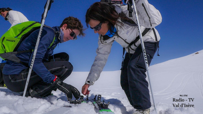 Val d'Isère rendez-vous ski de randonnée initiation matériel
