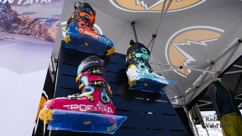 Val d'Isère rendez-vous ski de randonnée matériel chaussure de ski