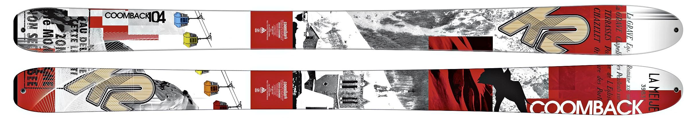 K2 : Coomback 104 184 / Palme de la Polyvalence