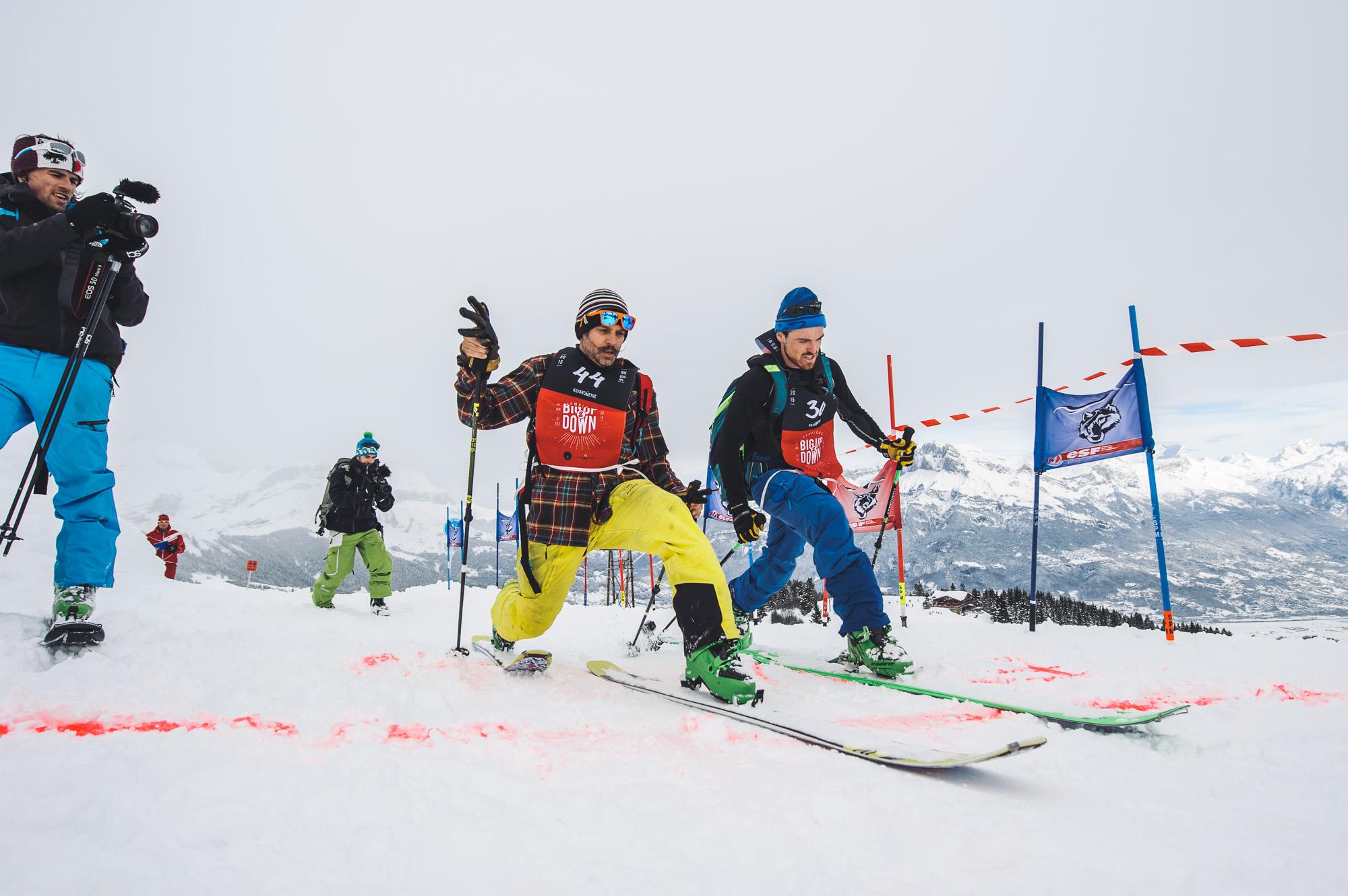 Enak et Mathieu l'arrivée du Kilianomètre ©Marc Daviet/CTC