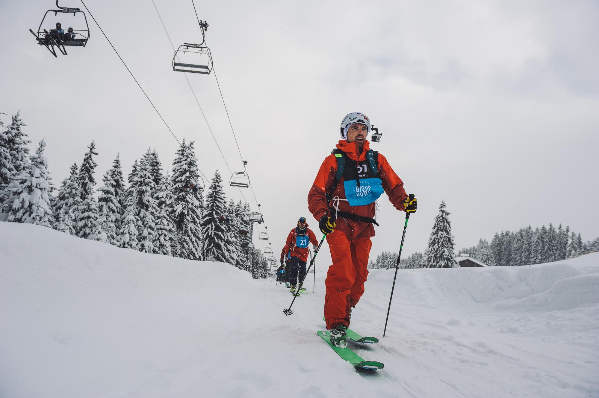 Mathieu Navillod en plein effort pendant le Big Nak ©Marc Daviet/CTC