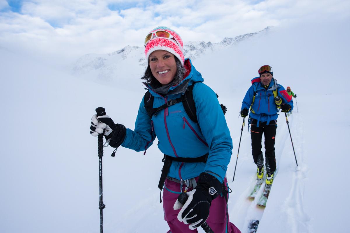 Gabriela et Luka ont le sourire après 2 étapes dans le mauvais temps.
