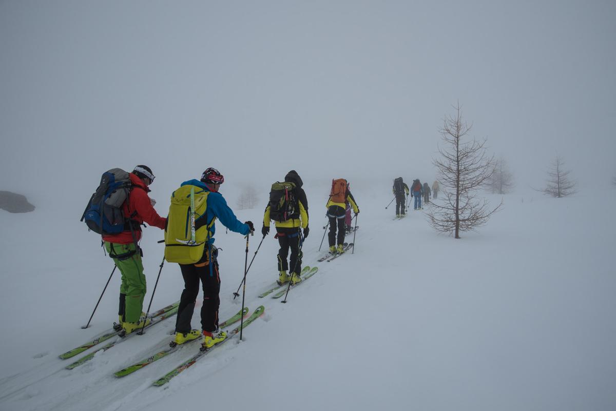 Quelques kilomètres un peu plats avant Zermatt : de quoi jeter ses dernières forces !