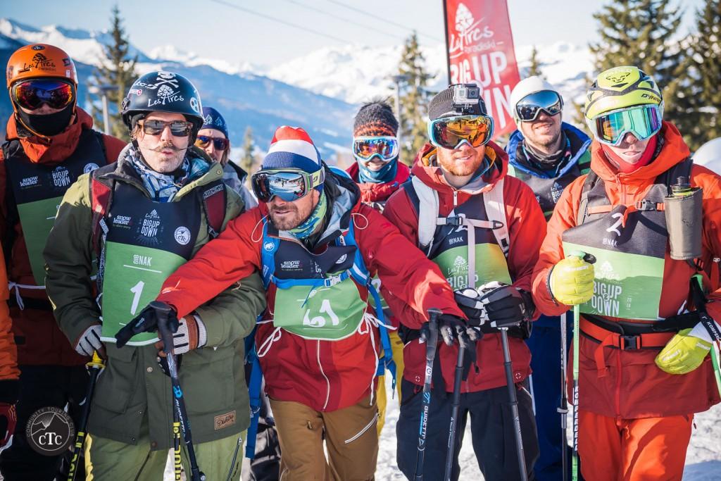 De gauche à droite : Enak Gavaggio, Adrien Coirier, Caroline Freslon, Jeremy Prevost, Mathieu Navillod