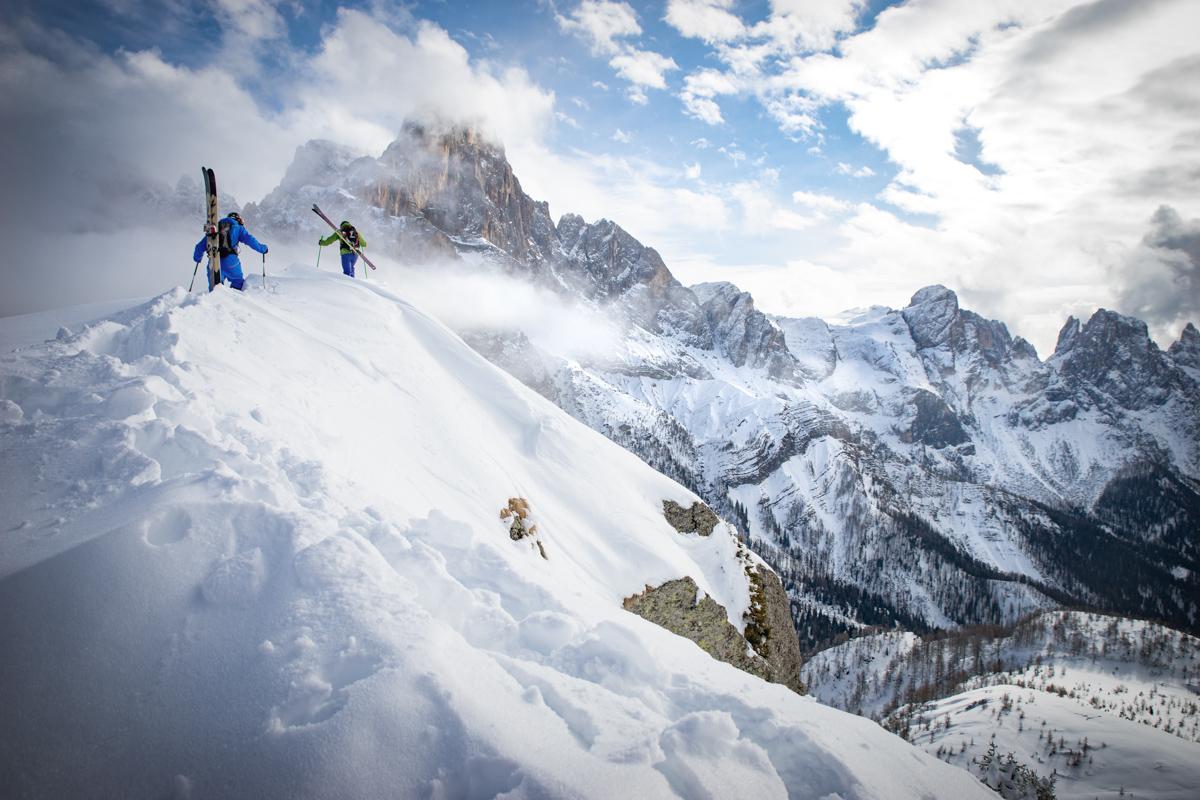 Vainqueur de la catégorie Alpinisme/pro ©Christoph Oberschneider (riders : MatthiasAigner et LukasOberschneider)