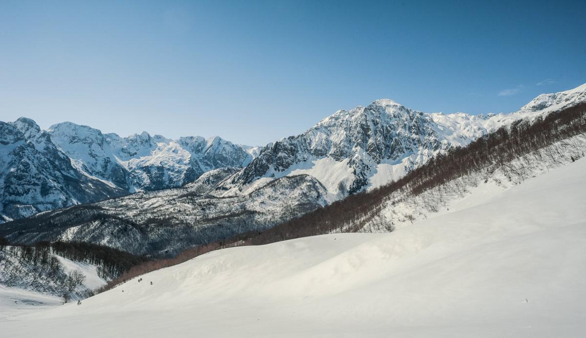 Valbona Kukaj's valley elev 2000m Montenegro's border