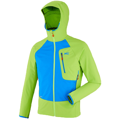 Millet softshell touring speed xcd hoodie
