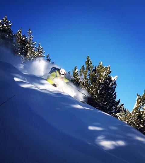 Adrier Coirier freerando ski