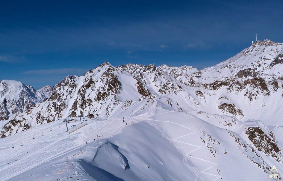 Station de ski pyrénées