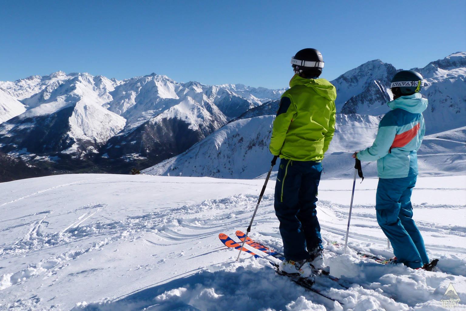 Ski de randonnée dans les Pyrénées