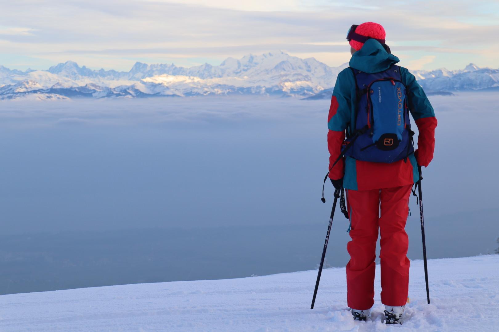 Filles ski de rando