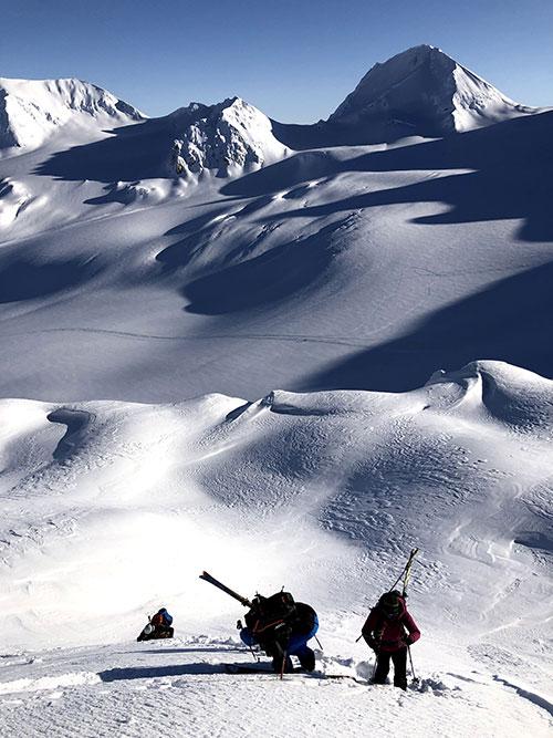 Yukon Canada ski randonnée