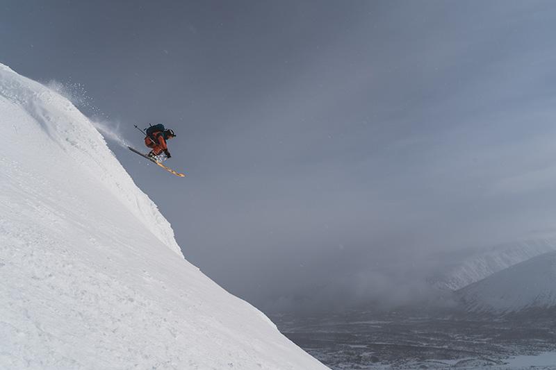Yukon Canada ski randonnée descente
