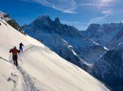 Freerando dans la Vallée de Chamonix Mont-Blanc