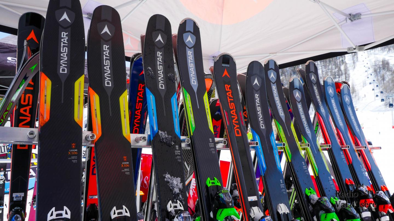 Val d'Isère rendez-vous ski de randonnée skis