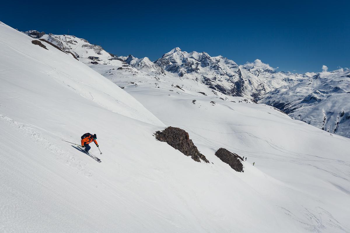 Val d'Isère ski freeride