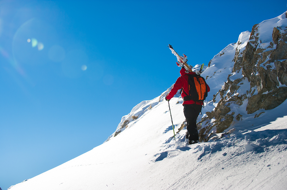 Val d'Isère ski neige freeride