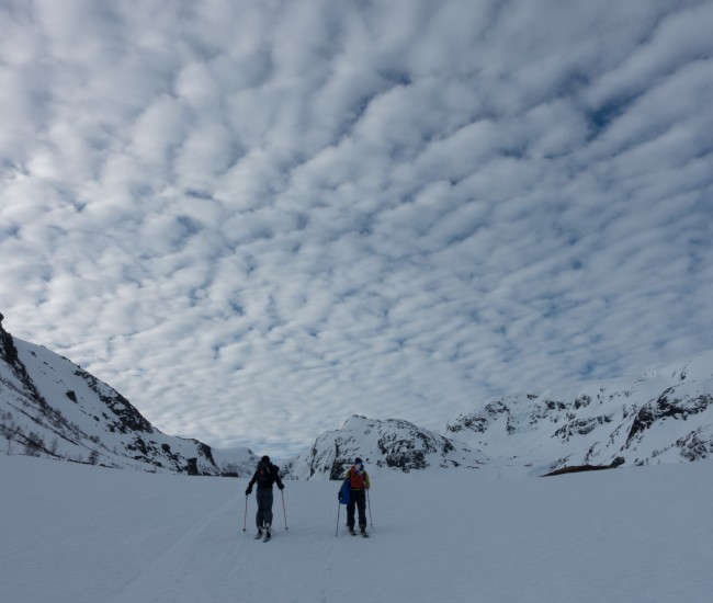 La Norvège en train par Völkl skis