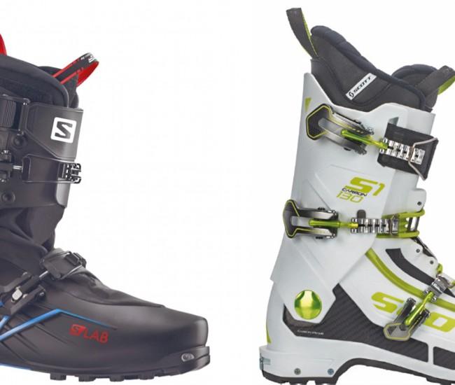 Matos 18 : chaussures S/Lab X-Alp Salomon et S1 Scott