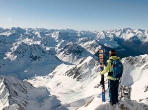 Freerando au Pic du Midi