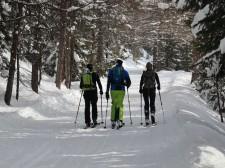 Visite guidée skis aux pieds à Crans-Montana